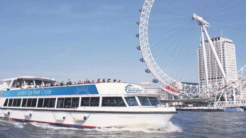 London Eye River Cruise. 23% NHS discount