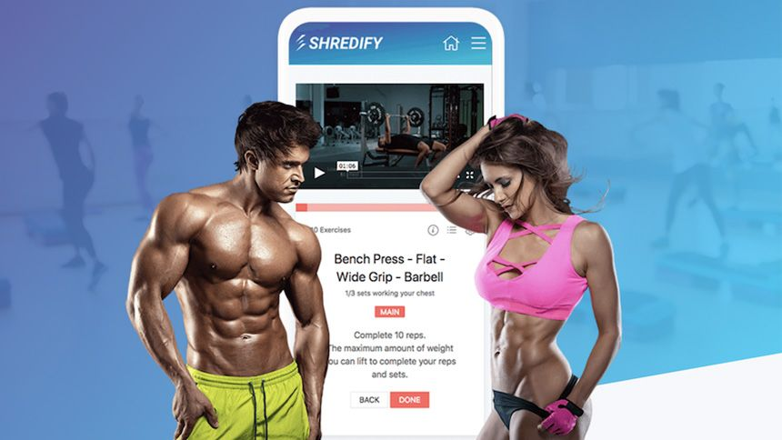 Health and Fitness App. Exclusive 50% off membership for NHS