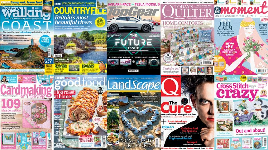 The Best UK Magazines. Exclusive £1 off for NHS
