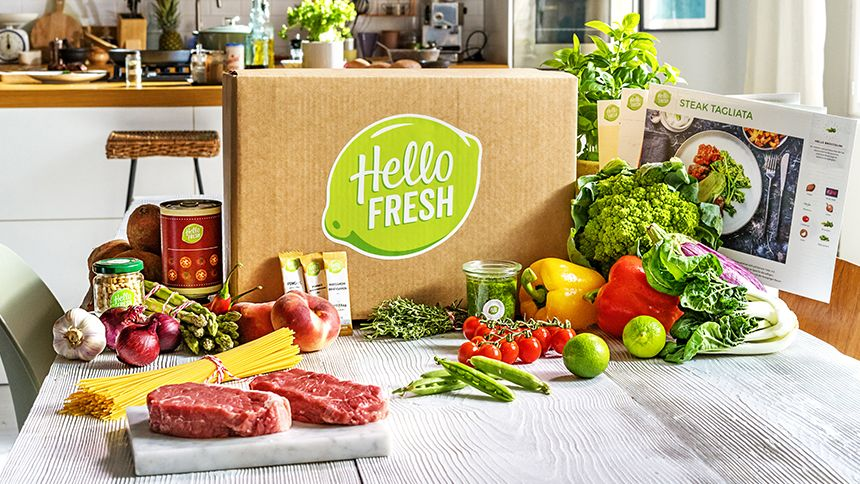 HelloFresh. 50% off every 5th recipe box