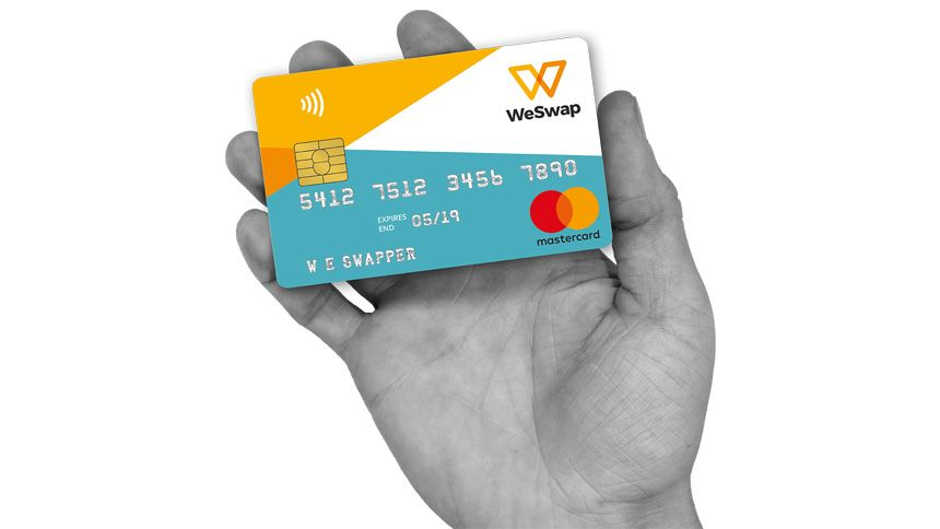 WeSwap Travel Card - £15 free travel money for NHS