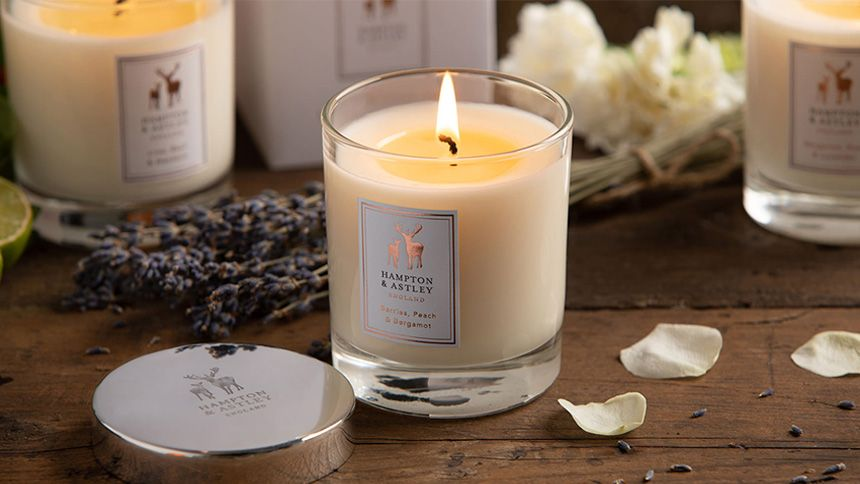 Luxury Candles, Towels and Homeware. 50% NHS discount