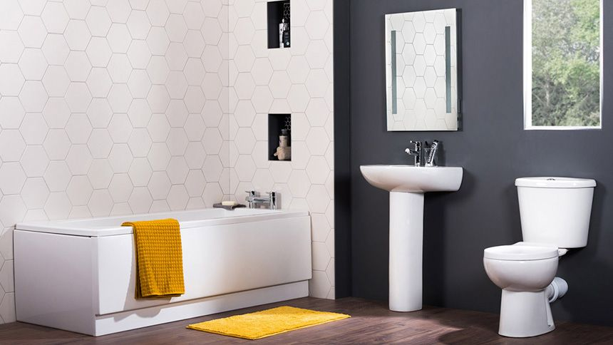 Bathroom Takeaway. 10% off on everything over £200