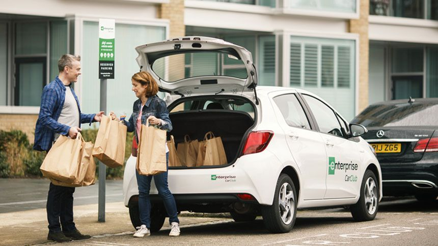 Enterprise Car Club - £10 membership to Enterprise Car Club for NHS