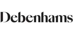 Debenhams+10% off when you spend £50