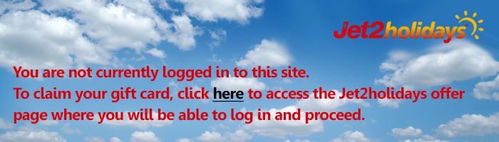 Logged out jet2 offer 